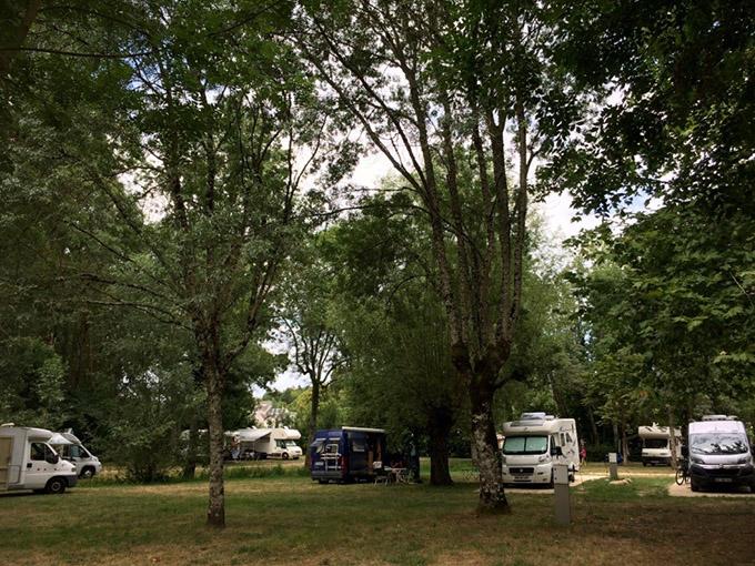 La gestion des aires de camping-cars